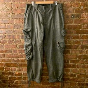 Vintage polo wool cargo pants